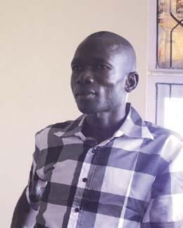 """Aliou Faye, de Bokk Diom, discute avec les autorités sénégalaises des suites possibles à donner à ce qu'il a appris en Inde."""""""