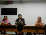 waste pickers and anti-incineration movement meet with Brazilian leaders