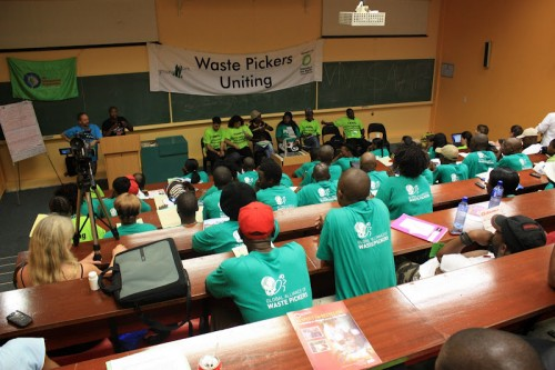 cop 17 waste pickers' meeting